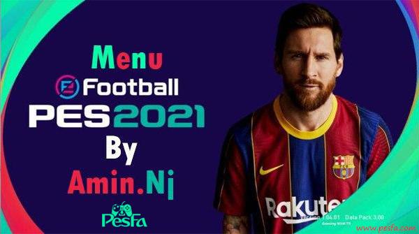 فول منو گرافیکی PES 2021 برای PES 2017 توسط Amin.Nj
