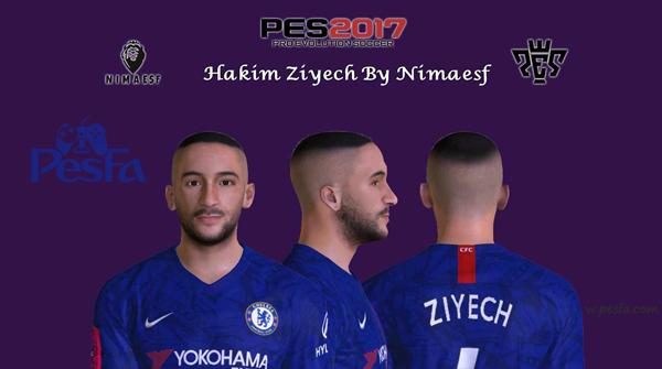 فیس Hakim Ziyech توسط Nimaesf برای PES2017