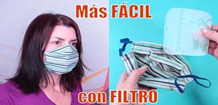 تصویر از روش دوخت و آشنایی با ماسک های پارچه ای فیلتردار