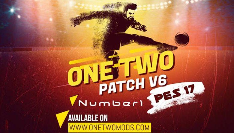 پچ حجیم One Two v6 برای PES 2017