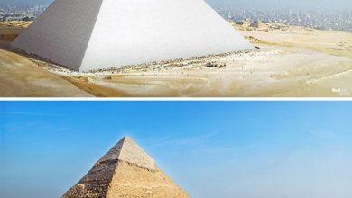 تصویر از چرا نوک هرم بزرگ مصر درخشان و نورانی بود؟ + عکس