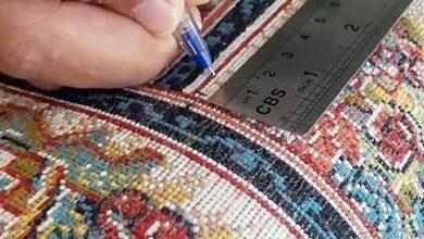 تصویر از راه های تشخیص فرش 700 شانه اصل کاشان