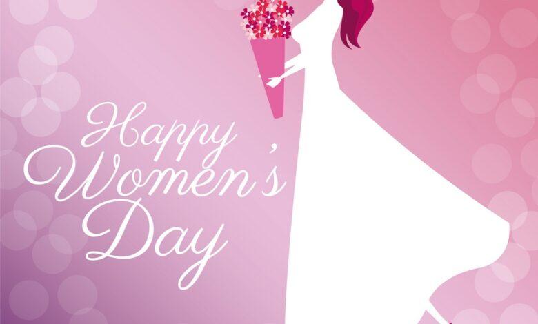 عکس نوشته تبریک 8 مارس روز جهانی زن