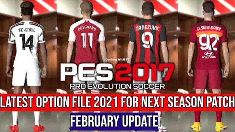 آپشن فایل جدید توسط TR برای پچ Next Season Patch 2020