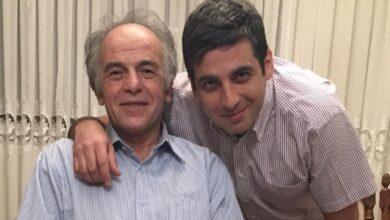 تصویر از عکس حمید گودرزی و پدرش | حمید گودزی و پدرش در روز پدر