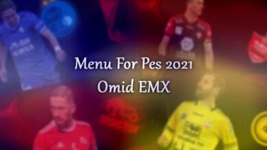 تصویر از کالکشن منو گرافیکی لیگ ایران توسط Omid EMX برای PES 2021