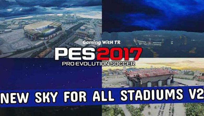 مودگرافیکی Sky v2 توسط TR برای PES 2017