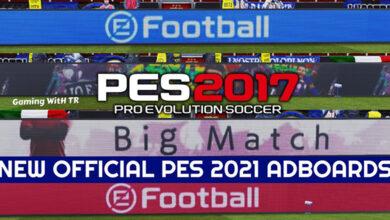 تصویر از ادبورد E Football pes 2021 برای pes 2017 توسط TR