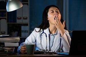 تصویر از برنامه کاری نامنظم خطر ابتلا به بیماریهای عفونی را افزایش میدهد