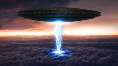 تصویر از همه چیز درباره موجودات فضایی و یوفوها