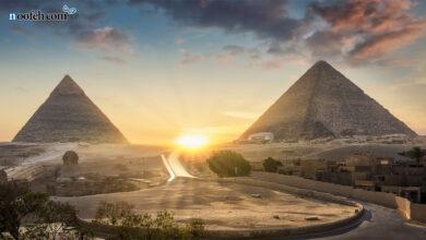 تصویر از اهرام مصر باستان و کاوش در واقعیات جالب آن
