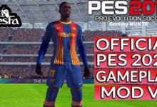 تصویر از مود GAMEPLAY MOD V5 برای PES 2017
