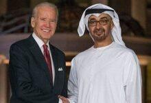 تصویر از گفتگوی تلفنی بایدن با ولیعهد امارات
