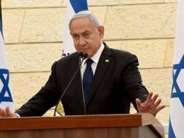 تصویر از ادعای نتانیاهو: یک پهپاد ایرانی را سرنگون کردیم – برترین ها