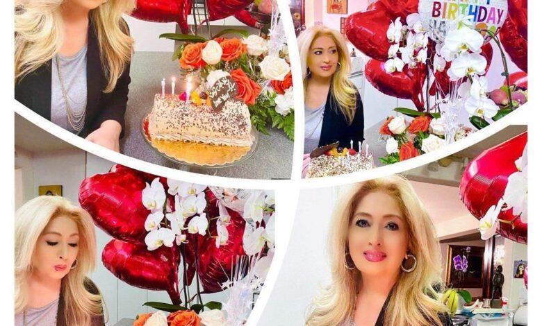 عکس جشن تولد لیلا فروهر | تصاویر جشن تولد لیلا فروهر | سن لیلا فروهر