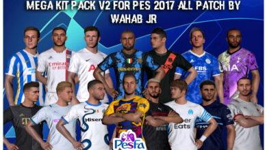 تصویر از کیت پک فصل 21-22 ورژن 2 برای PES 2017 توسط WAHAB JR
