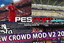 تصویر از مود تماشاگران 2021 V2 برای PES 2017