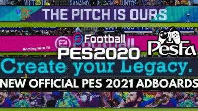 تصویر از ادبورد تبدیلی Pes 2021 برای Pes 2020 توسط TR