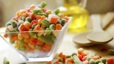 تصویر از خواص و مضرات سبزیجات فریز شده