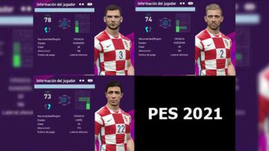 تصویر از فیس پک کرواسی برای PES 2017 توسط Kain Facemaker