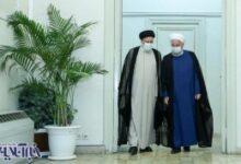 تصویر از روحانی به دیدار سیدابراهیم رییسی رفت – اقتصاد آنلاین