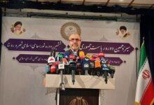 تصویر از هیچ حادثه امنیتی در برگزاری انتخابات نداشتیم