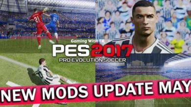 تصویر از مود گرافیکی جدید برای PES 2017 توسط TR