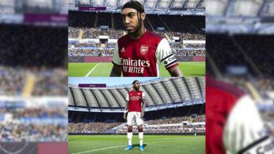 تصویر از کیت پک Arsenal برای PES 2021 توسط Eder Mello