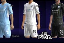 تصویر از کیت پک Manchester City 2022 برای PES 2013 توسط Taufik Kitmaker