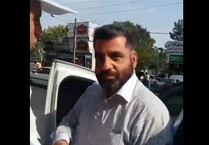 تصویر از فرد حاضر در فیلم درگیری با سرباز ، قاضی نیست