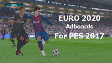 تصویر از ادبورد EURO 2021 برای PES 2017 توسط Predator002
