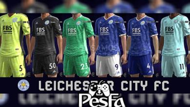 تصویر از کیت پک Leicester City 2022 برای PES 2013 توسط Taufik Kitmaker