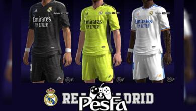 تصویر از کیت پک Real Madrid 2022 برای PES 2013 توسط Taufik Kitmaker