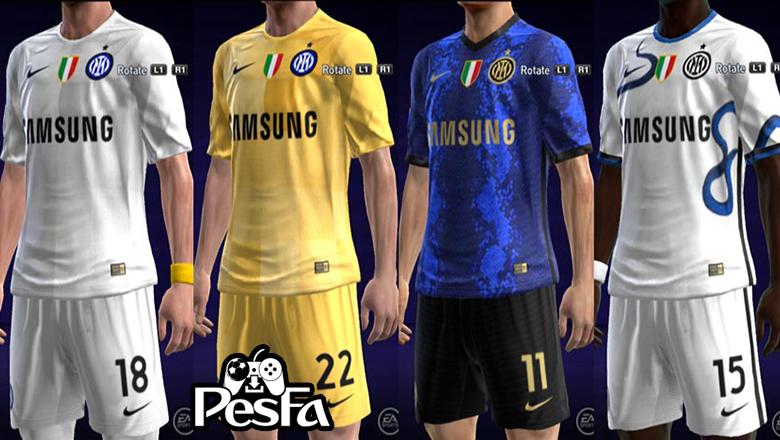 کیت پک Inter Milan 2022 برای PES 2013 توسط Taufik Kitmaker