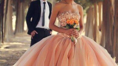 تصویر از لباس عروس رنگی | مجلسی استایل