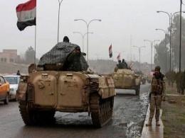 تصویر از آماده باش نیروها و استقرار دهها فروند تانک در نقاط مختلف بغداد – خبرگزاری مهر