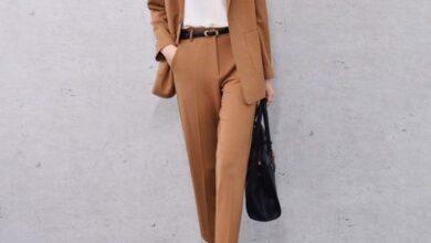 تصویر از مدل های جدید کت و شلوار زنانه 1400 | کت و شلوار زنانه