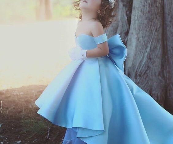 مدل لباس پرنسسی جذاب برای بچه ها   لباس مجلسی بچگانه