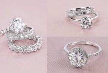 تصویر از ۳۰ عکس مدل حلقه ازدواج و نامزدی جدید ۲۰۲۱ ست، مردانه و زنانه