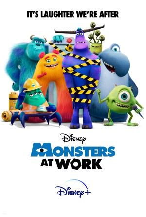 دانلود سریال انیمیشن Monsters at Work 2021 هیولا ها سرکار ❤️ با زیرنویس فارسی چسبیده