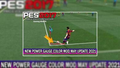 تصویر از مود تغییر رنگ Power Bar توسط TR برای PES 2017