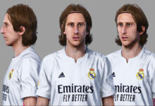تصویر از فیس Luka Modric توسط Sameh Momen برای PES 2021