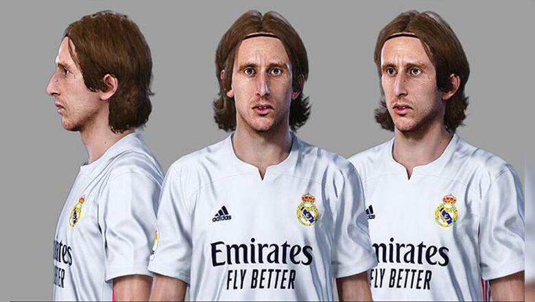 فیس Luka Modric توسط Sameh Momen برای PES 2021