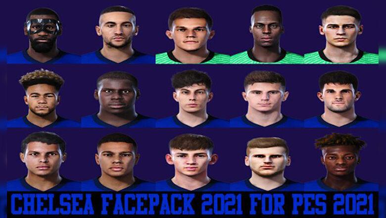 فیس پک چلسی برای PES 2021