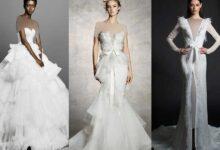 تصویر از ۶۲ مدل لباس عروس جدید و شیک ۲۰۲۱ برای سورپرایز عروسهای لاکچری