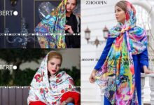 تصویر از ۴۲ مدل شال و روسری جدید دخترانه و زنانه مجلسی و اسپرت نخی ۱۴۰۰
