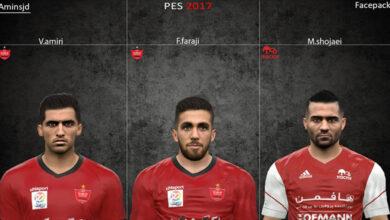تصویر از فیس پک ایرانی برای PES 2017 توسط Aminsjd