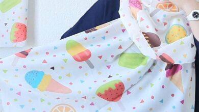 تصویر از مدل های جدید شال دخترانه شیک با طرح فانتزی | شال دخترانه