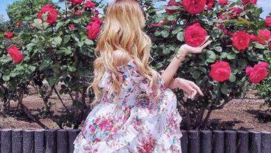 تصویر از 33 مدل از پیراهن نخی تابستانه کوتاه و بلند برای خانم ها!