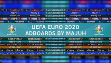 تصویر از تابلو تبلیغاتی یورو 2020 توسط majuh برای PES 2021
